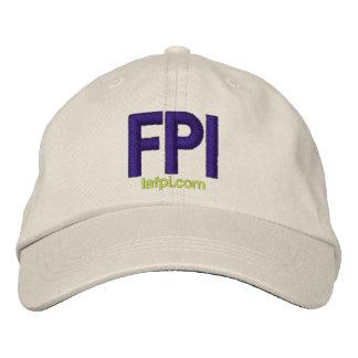 Gorra del LA FPI - impresión púrpura ajustable Gorra De Béisbol Bordada