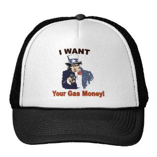 Gorra del ladrón del gas