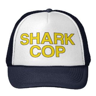 Gorra del lema del POLI del TIBURÓN