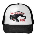 Gorra del leopardo del negro del parque zoológico