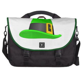 Gorra del Leprechaun con la hebilla Bolsa De Ordenador