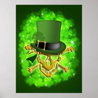 Gorra del Leprechaun del día de Patricks del santo Impresiones