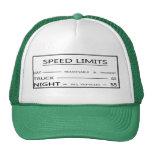 Gorra del límite de velocidad del vintage de Monta