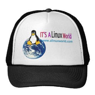 gorra del linux de www.alinuxworld.com