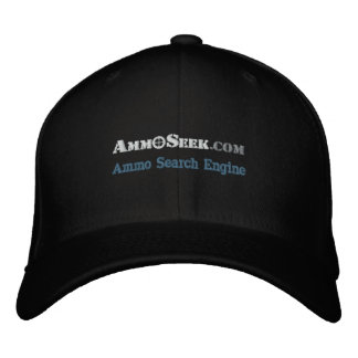 Gorra del logotipo de AmmoSeek con el texto del Se Gorra Bordada
