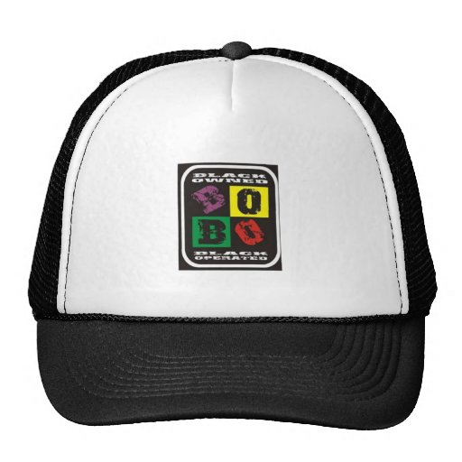 gorra del logotipo de Bobo