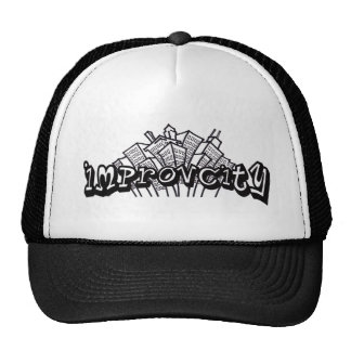 Gorra del logotipo de ImprovCity