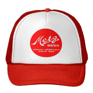 Gorra del logotipo de la cerveza de Metz del vinta