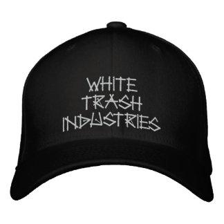 Gorra del logotipo de la firma de las industrias d gorro bordado