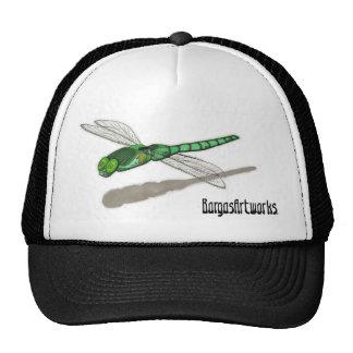 Gorra del logotipo de la libélula de BargasArtwork