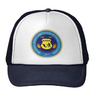 Gorra del logotipo de la parodia del ATF/de BATFE