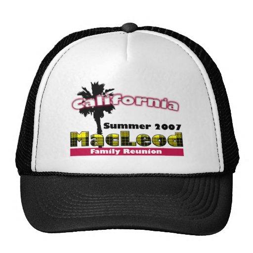 Gorra del logotipo de la reunión