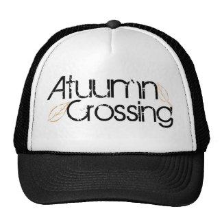 Gorra del logotipo de la travesía del otoño