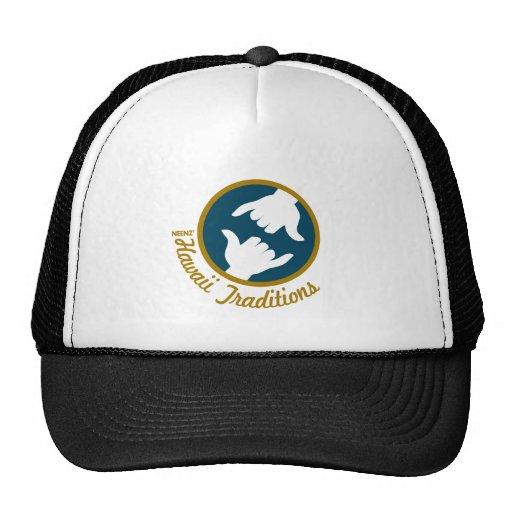 Gorra del logotipo de las tradiciones de Hawaii