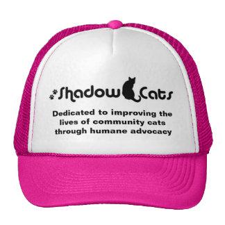 Gorra del logotipo de los gatos de la sombra