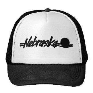 Gorra del logotipo de Nebraska del vintage