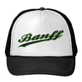 Gorra del logotipo del béisbol de Banff