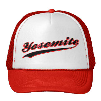 Gorra del logotipo del béisbol de Yosemite