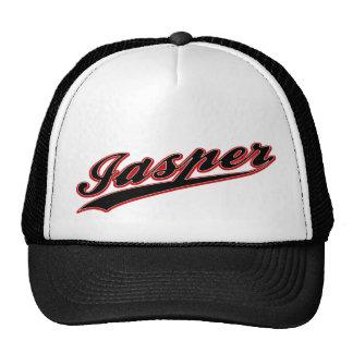 Gorra del logotipo del béisbol del jaspe