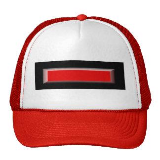 Gorra del logotipo del bombero