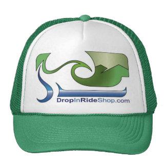 Gorra del logotipo del camionero de DropInRideShop