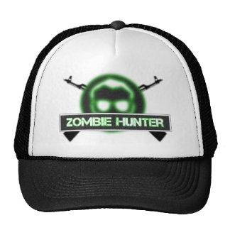 Gorra del logotipo del cazador del zombi