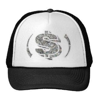 gorra del logotipo del Efectivo-terraplén