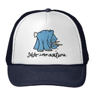 gorra del logotipo del elefante 3d