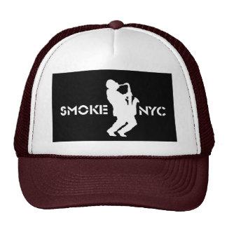 Gorra del logotipo del humo - modificado para requ