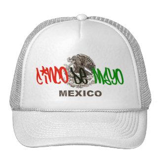 Gorra del logotipo del ingenio de Cinco De Mayo