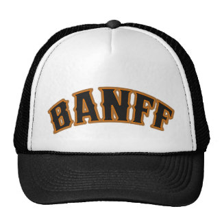 Gorra del logotipo del oso de Banff