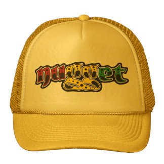 gorra del logotipo del rasta de la pepita