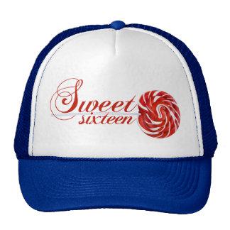 Gorra del Lollipop del dulce dieciséis
