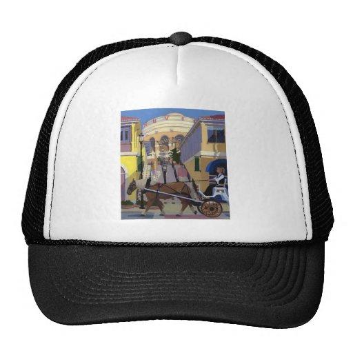 Gorra del lugar de la ciudad