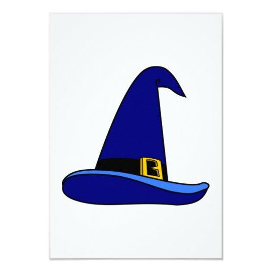 """Gorra del mago invitación 3.5"""" x 5"""""""
