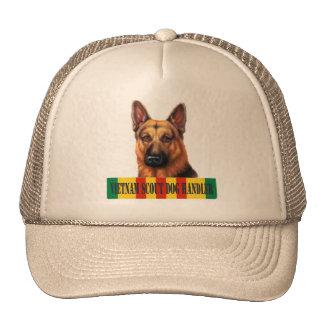Gorra del manipulador de perro del explorador de