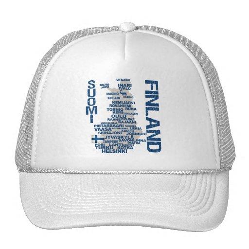 Gorra del MAPA de FINLANDIA