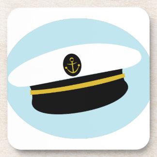 Gorra del marinero posavasos de bebida
