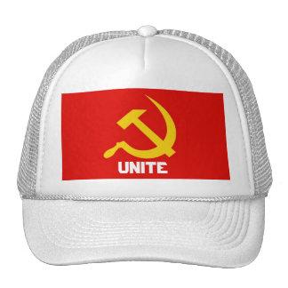 Gorra del martillo y de la hoz