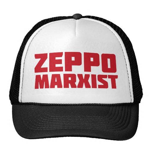 Gorra del MARXISTA de ZEPPO