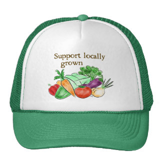 Gorra del mercado de los granjeros