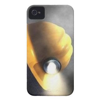 gorra del minero de carbón iPhone 4 funda