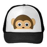 Gorra del mono de la mirada furtiva