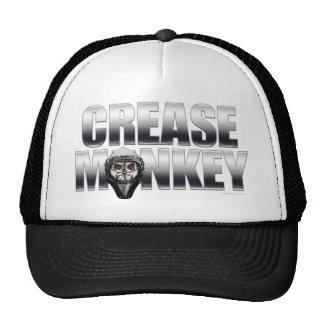 Gorra del mono del pliegue (cromo)