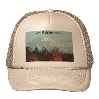 Gorra del Monte Rainier del otoño