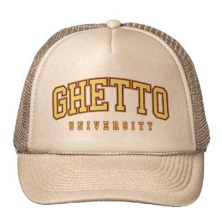 Gorra del moreno de la universidad del ghetto