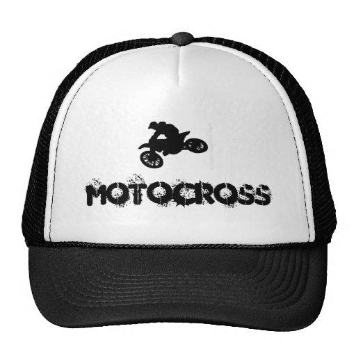 Gorra del motocrós
