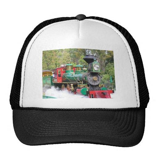 Gorra del motor del tren del vapor