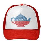 Gorra del movimiento de la fiesta del té del vinta