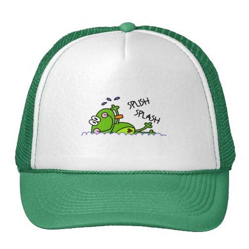 Gorra del muchacho de Froggie de la natación